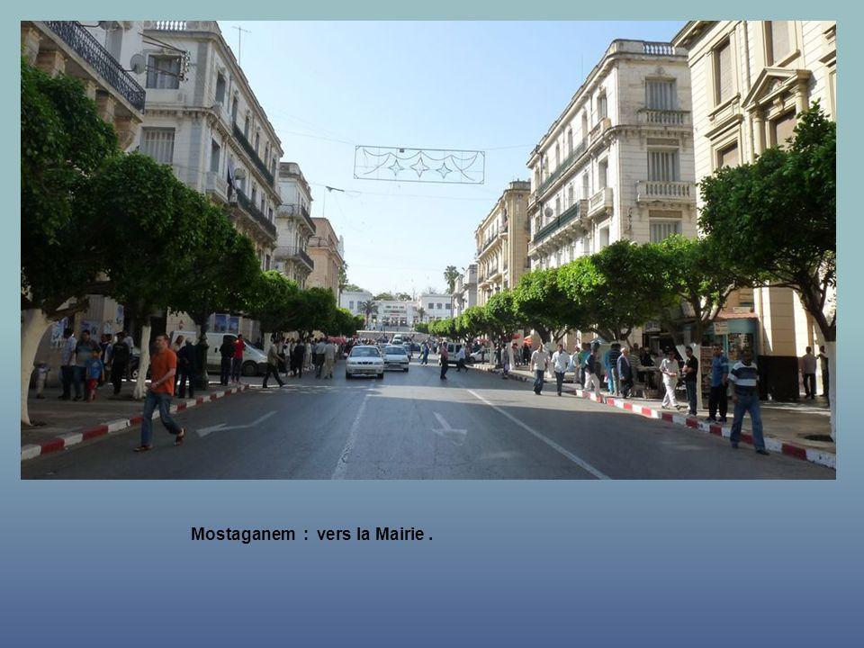 Mostaganem : vers la Mairie .