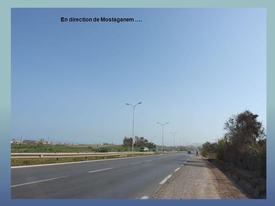 En direction de Mostaganem ….