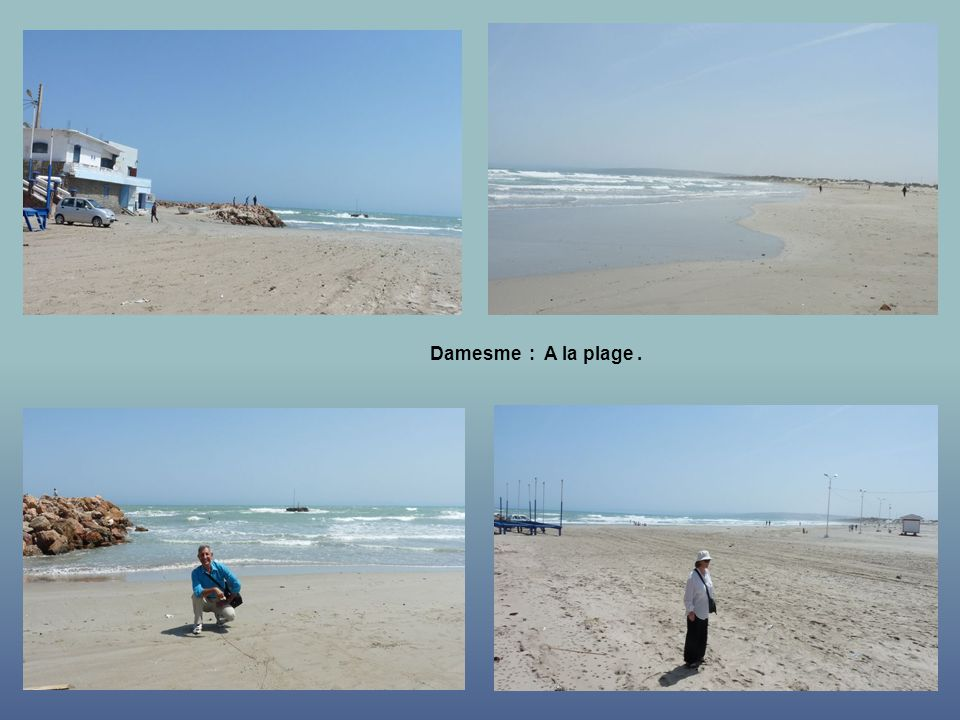 Damesme : A la plage .