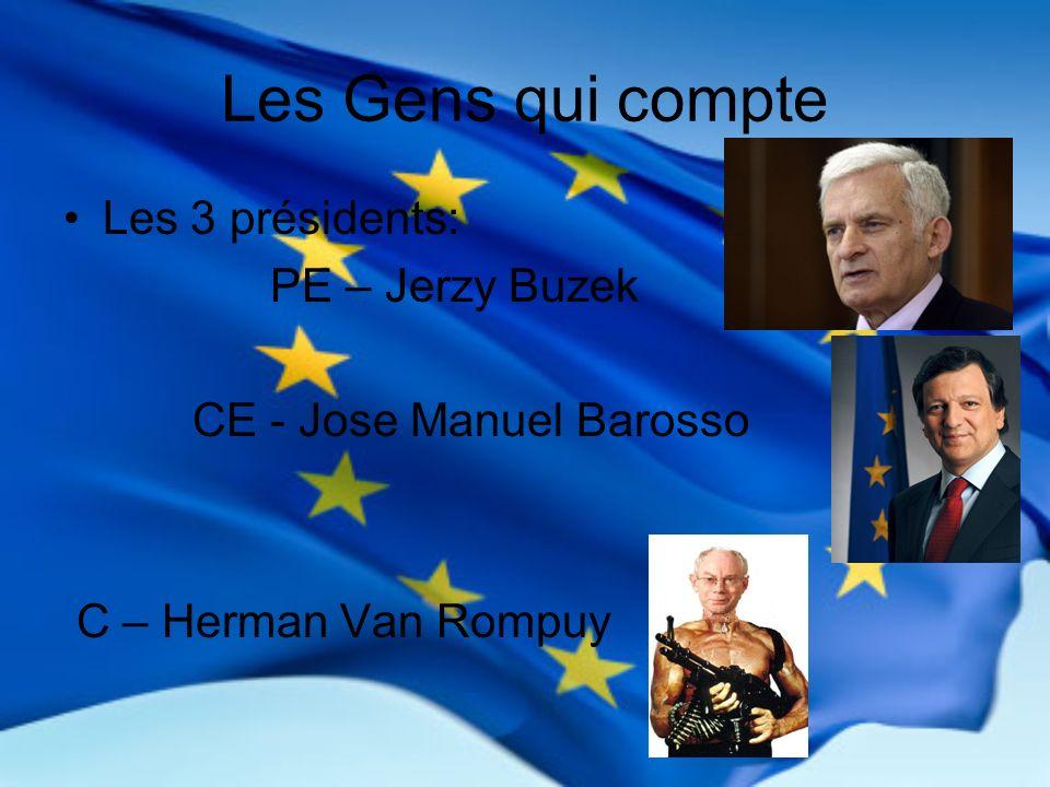 Les Gens qui compte Les 3 présidents: PE – Jerzy Buzek