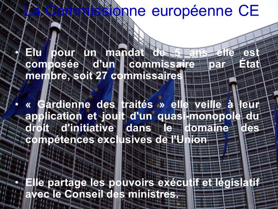 La Commissionne européenne CE