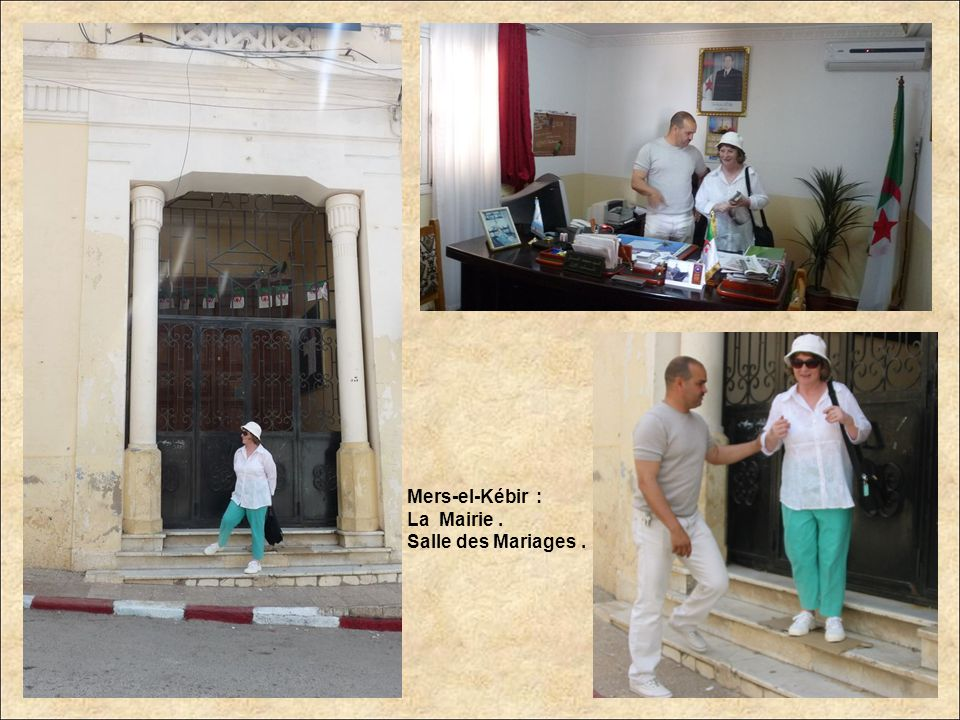 Mers-el-Kébir : La Mairie . Salle des Mariages .