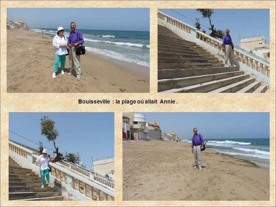 Bouisseville : la plage où allait Annie .