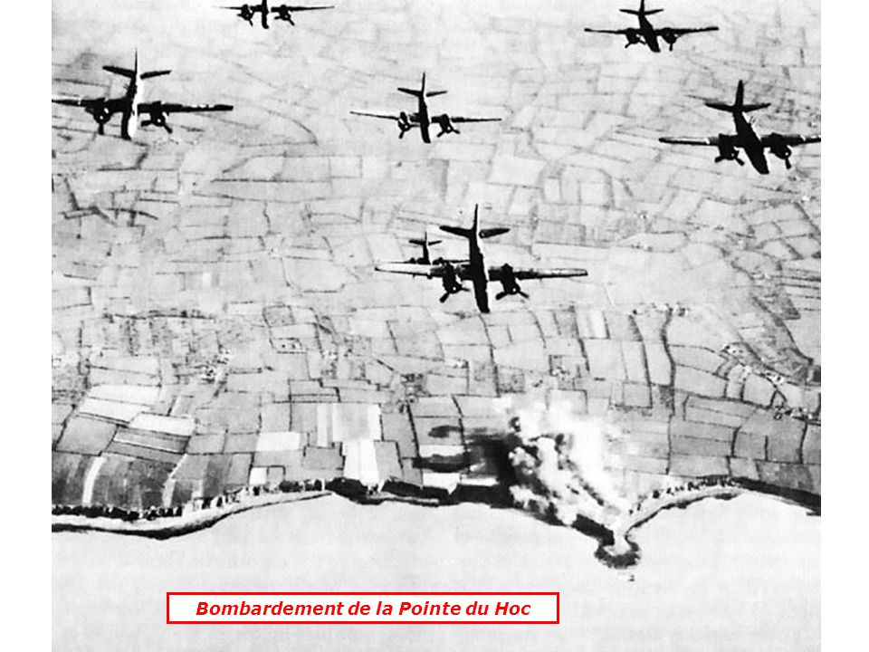 Bombardement de la Pointe du Hoc