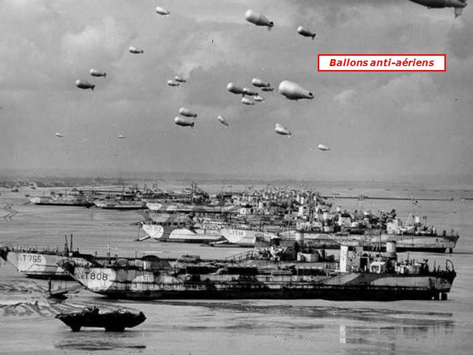 Ballons anti-aériens