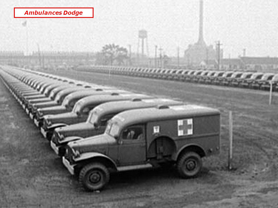 Ambulances Dodge