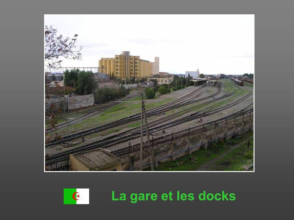 La gare et les docks