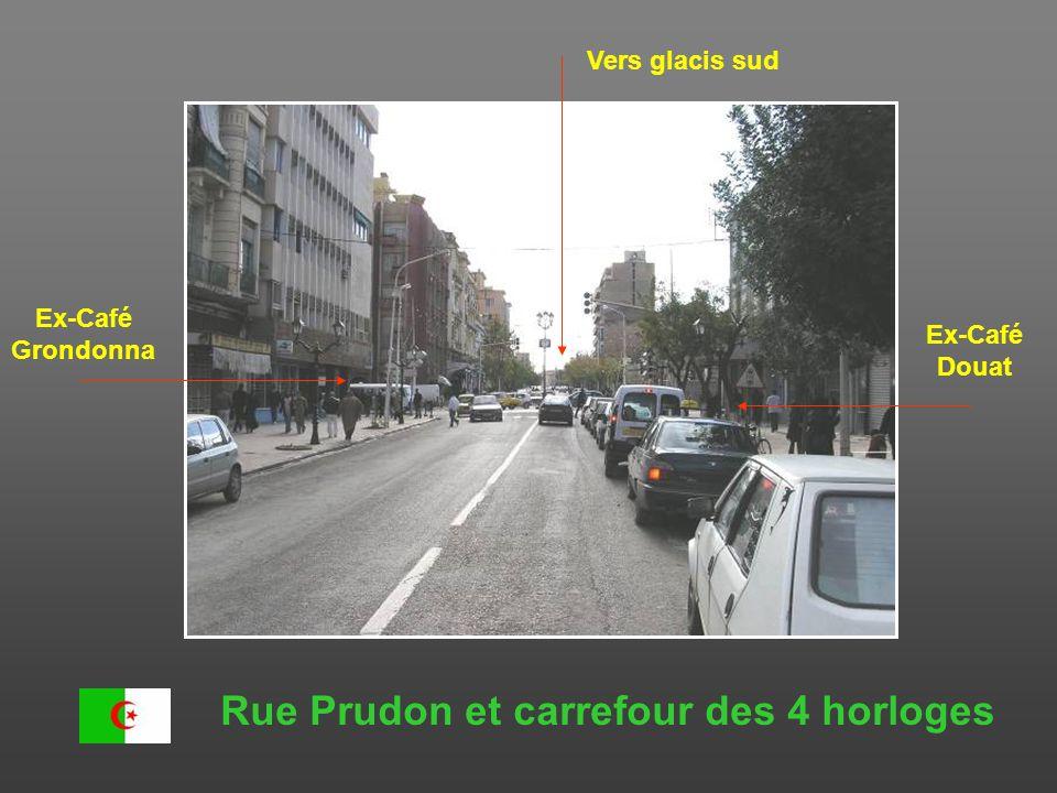 Rue Prudon et carrefour des 4 horloges
