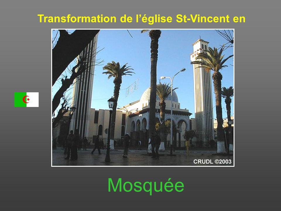 Transformation de l'église St-Vincent en