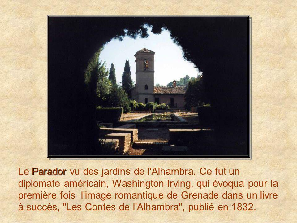 Le Parador vu des jardins de l Alhambra