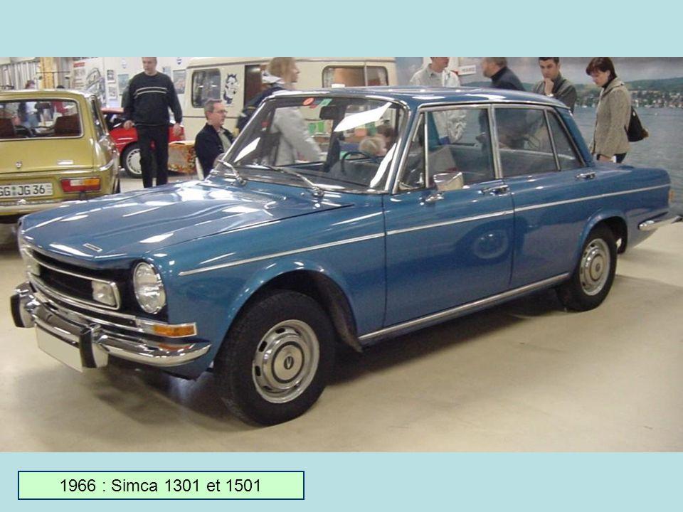 1966 : Simca 1301 et 1501