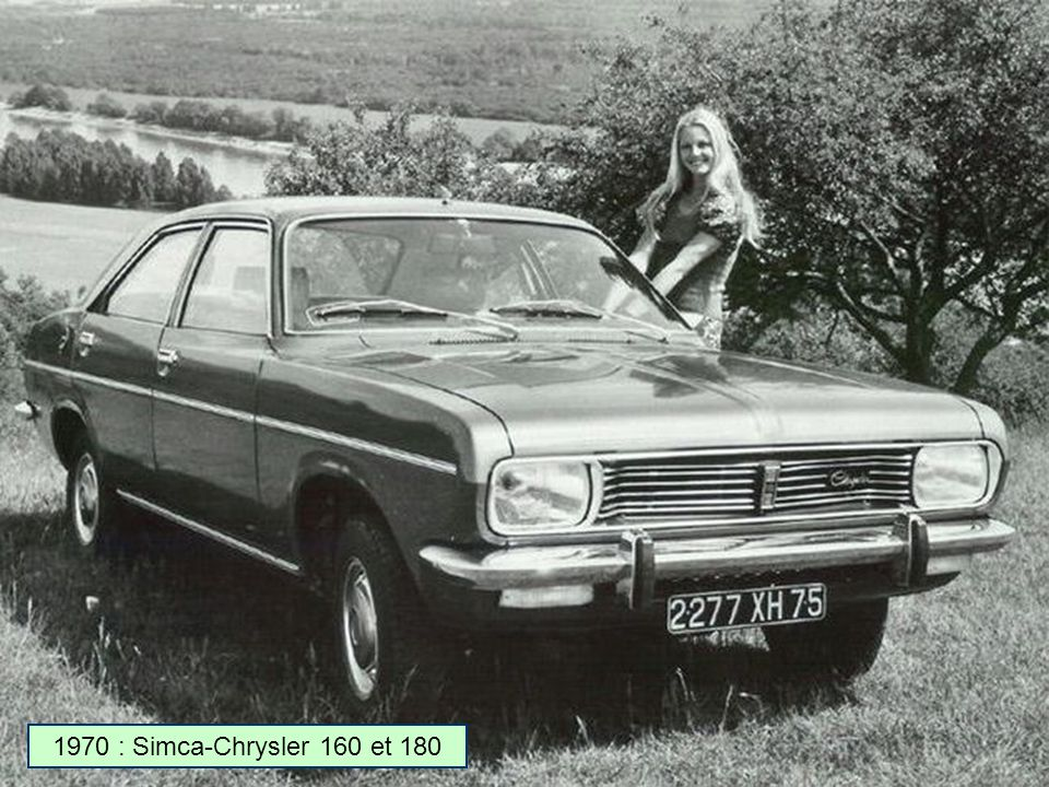 1970 : Simca-Chrysler 160 et 180