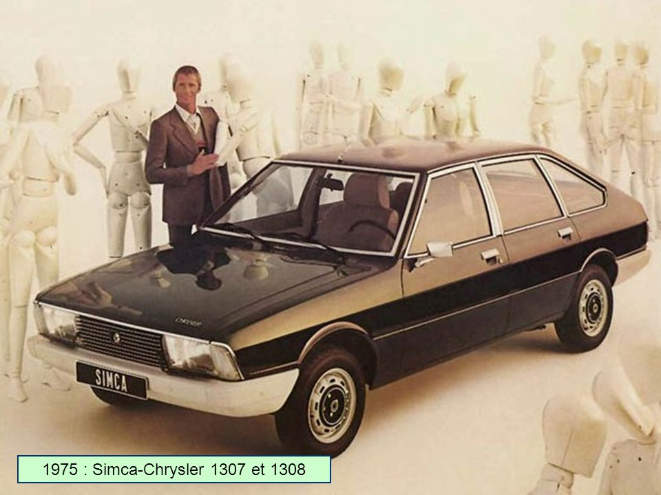 1975 : Simca-Chrysler 1307 et 1308