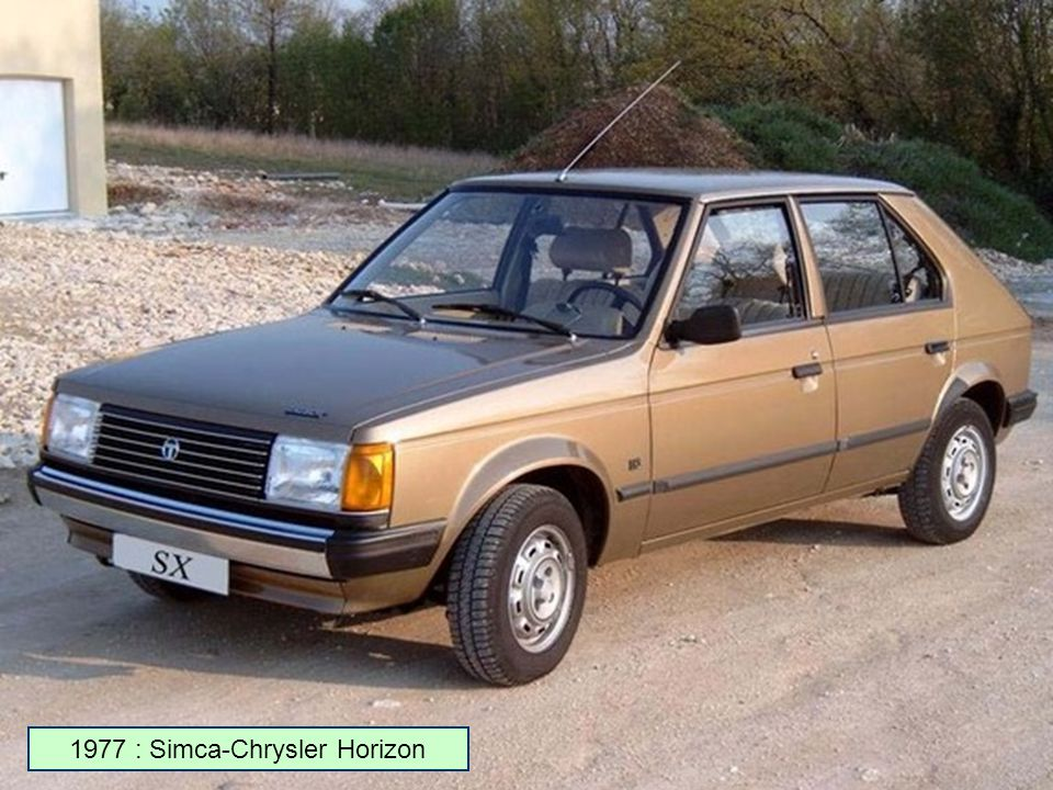 1977 : Simca-Chrysler Horizon