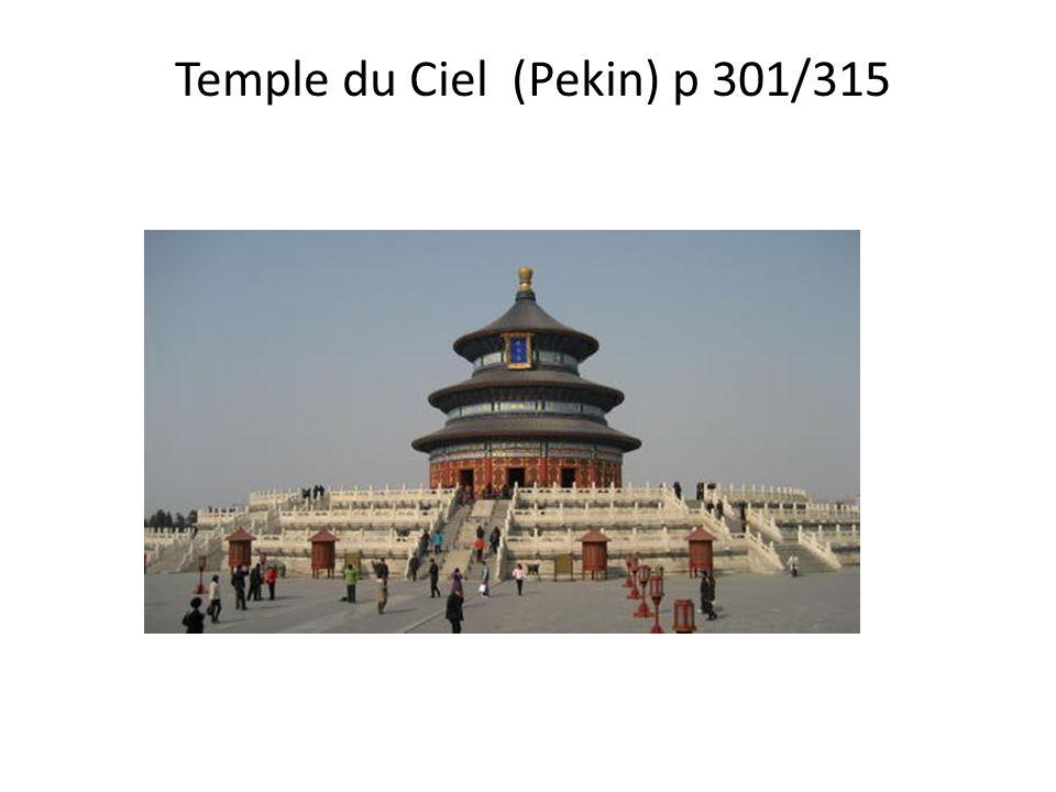Temple du Ciel (Pekin) p 301/315
