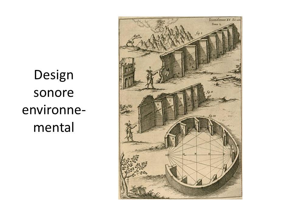 Design sonore environne-mental