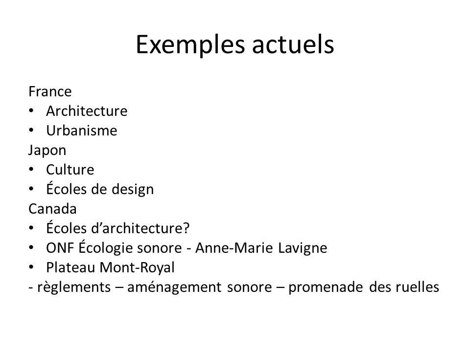 Exemples actuels France Architecture Urbanisme Japon Culture