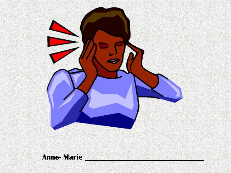 Anne- Marie _______________________________