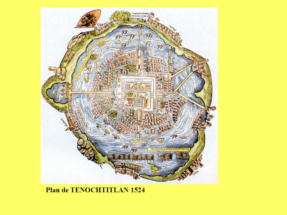 Plan de TENOCHTITLAN 1524