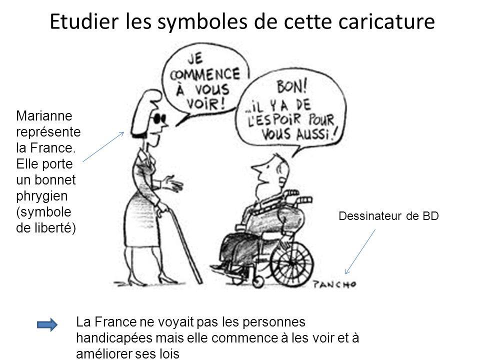 Etudier les symboles de cette caricature
