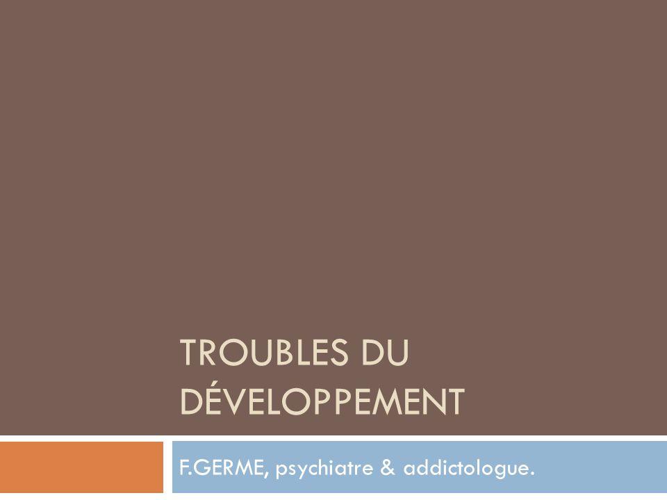 Troubles du développement