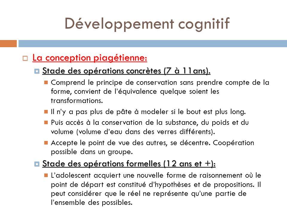 Développement cognitif