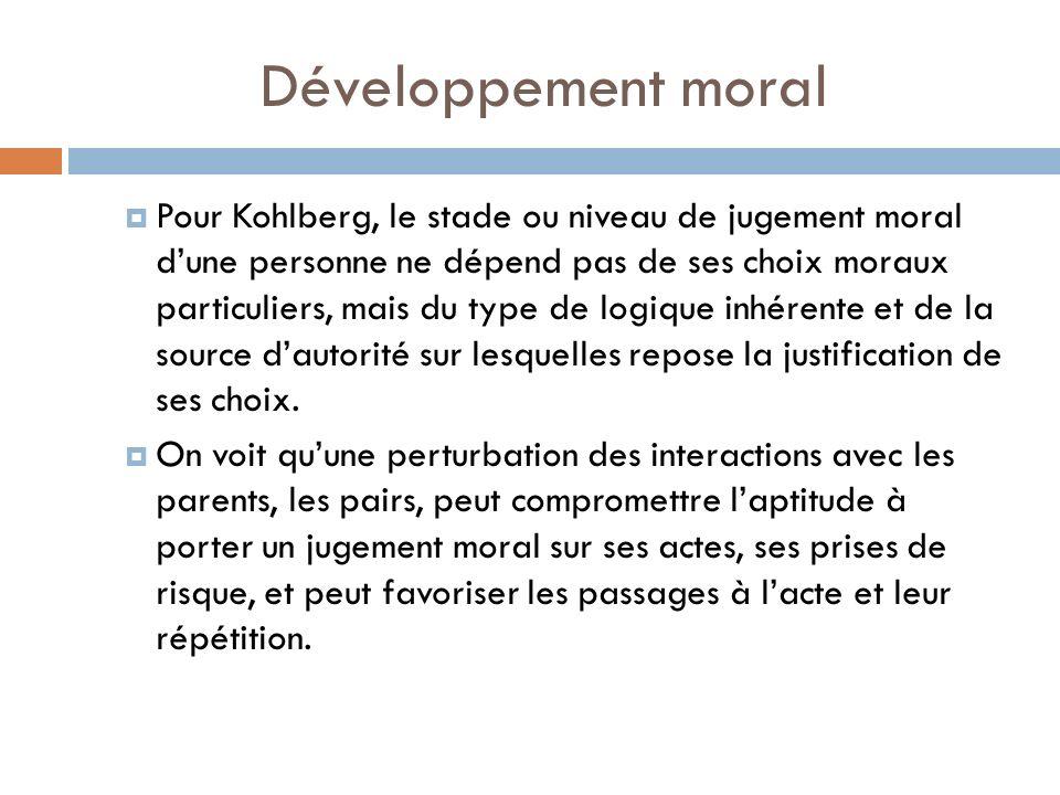 Développement moral