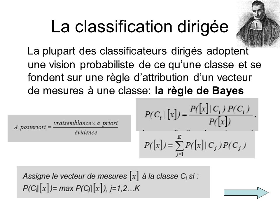 La classification dirigée