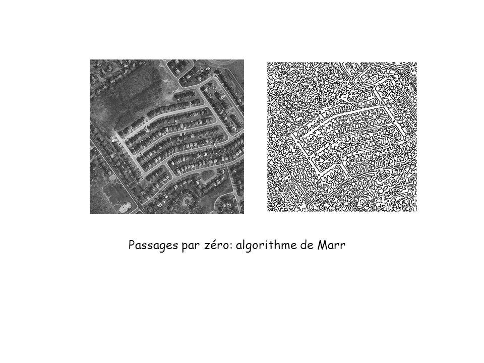 Passages par zéro: algorithme de Marr