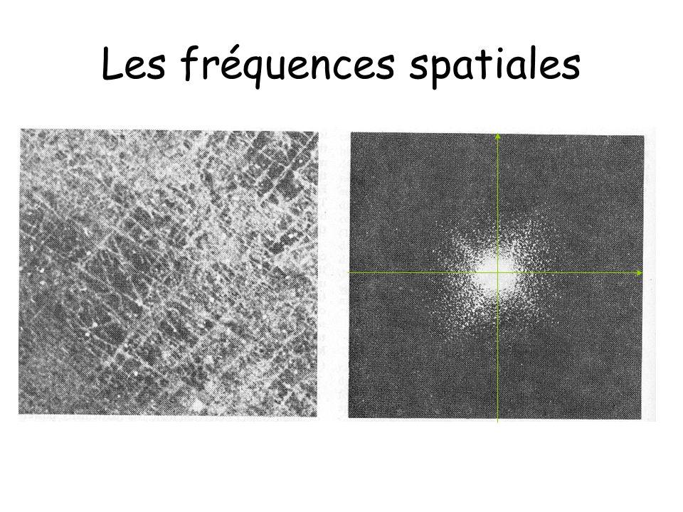 Les fréquences spatiales