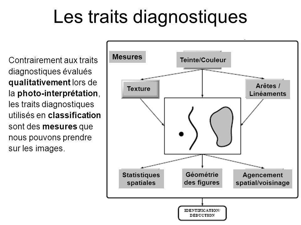 Les traits diagnostiques