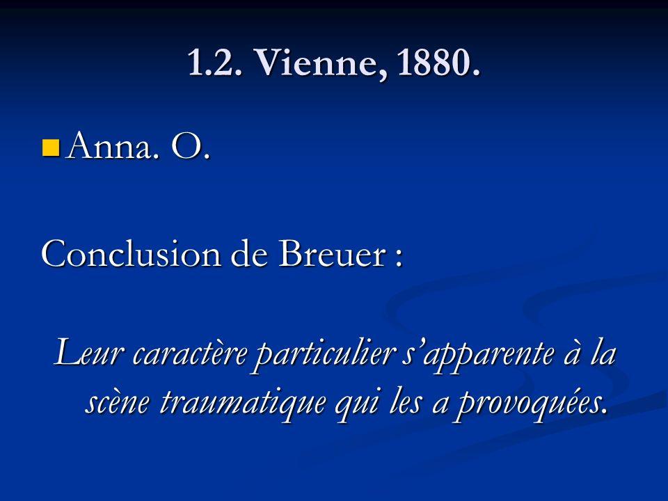 1.2. Vienne, 1880. Anna. O.