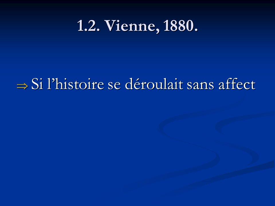 1.2. Vienne, 1880. Si l'histoire se déroulait sans affect