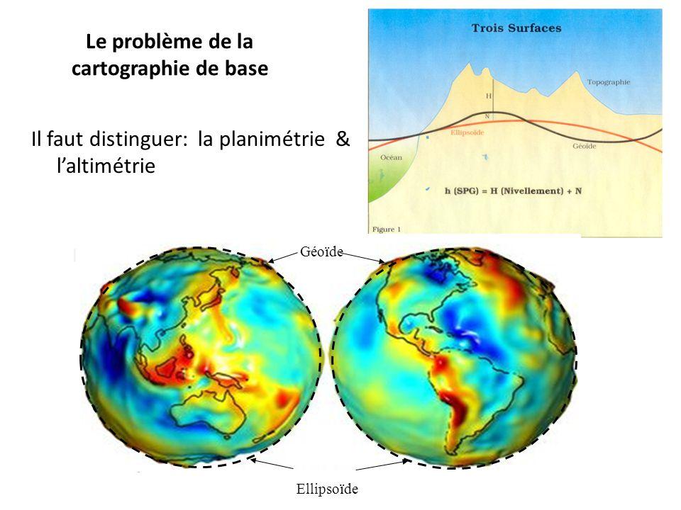 Le problème de la cartographie de base