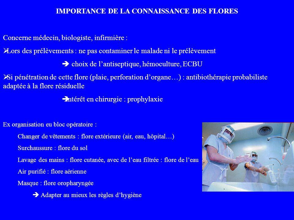 IMPORTANCE DE LA CONNAISSANCE DES FLORES