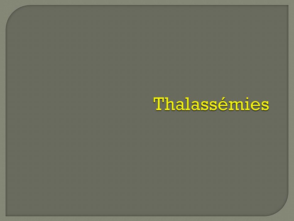 Thalassémies