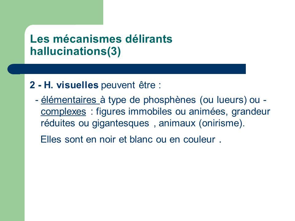 Les mécanismes délirants hallucinations(3)