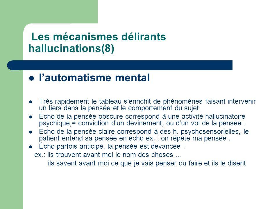 Les mécanismes délirants hallucinations(8)