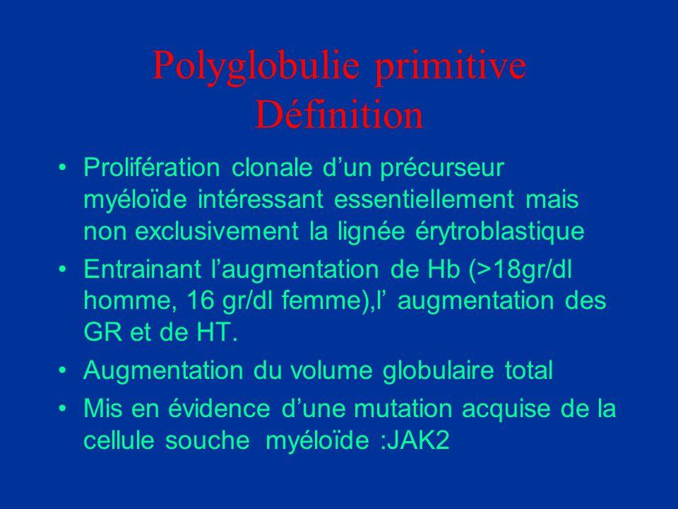 Polyglobulie primitive Définition
