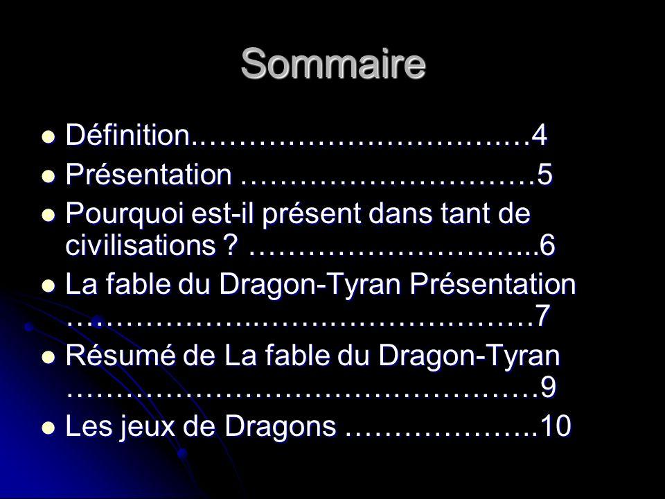Sommaire Définition.………………………….…4 Présentation …………………………5