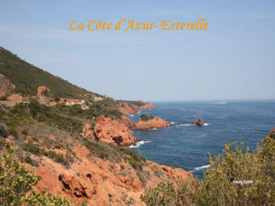 La Côte d'Azur- Esterelle