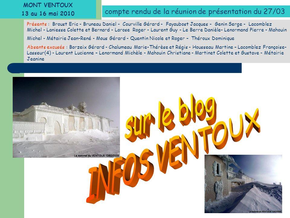 sur le blog INFOS VENTOUX