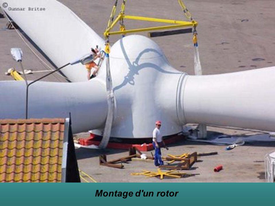 Montage d un rotor