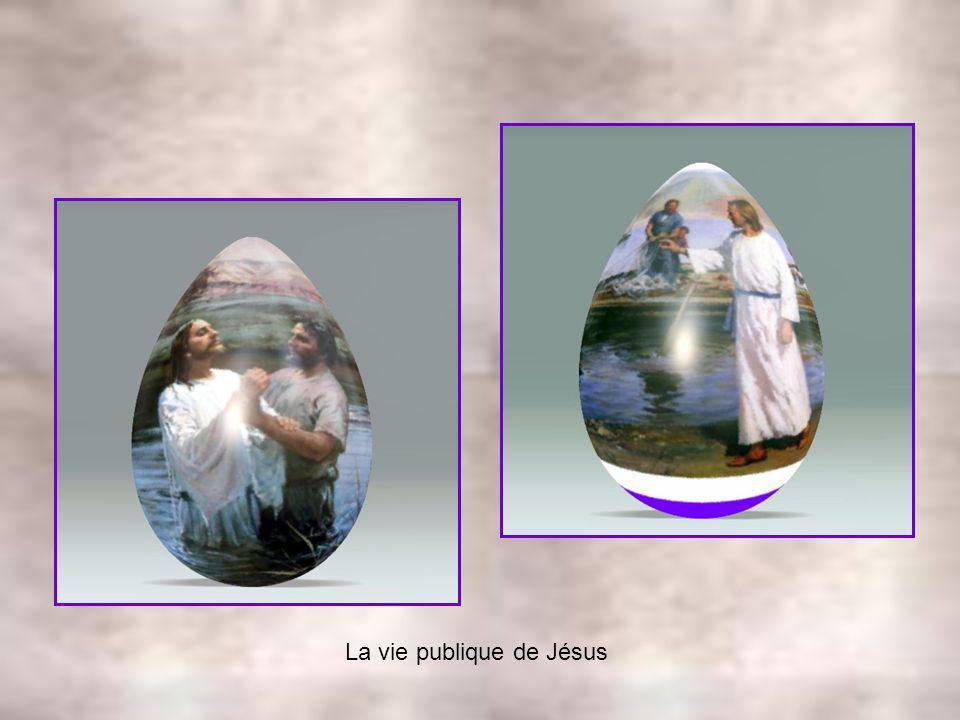 La vie publique de Jésus