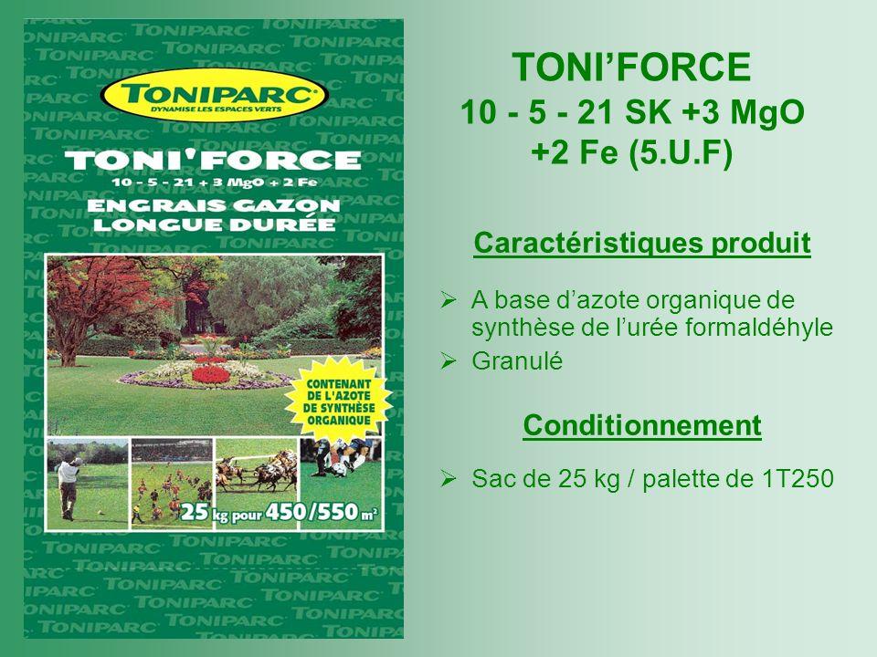 TONI'FORCE 10 - 5 - 21 SK +3 MgO +2 Fe (5.U.F)