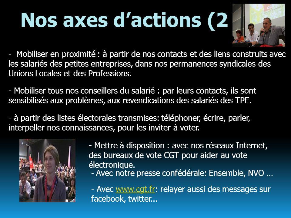 Nos axes d'actions (2