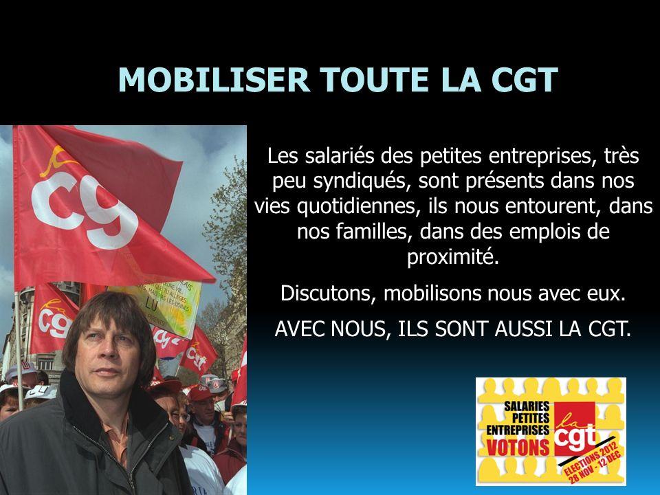 MOBILISER TOUTE LA CGT
