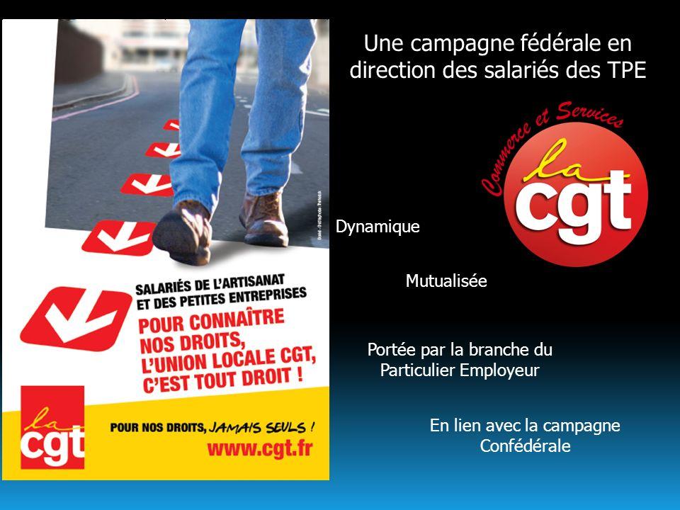 Une campagne fédérale en direction des salariés des TPE