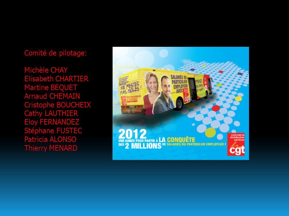 Comité de pilotage: Michèle CHAY. Elisabeth CHARTIER. Martine BEQUET. Arnaud CHEMAIN. Cristophe BOUCHEIX.