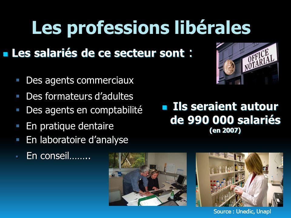 Les professions libérales
